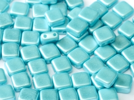 TH-25019 2Hole Square Pastel Aqua 12 Pc.-0