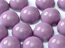 DO-ES-48227 Dome Beads Hollyhock Purple 8 Pc.-0