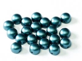 2HC-6-02010-25033 2-Hole Cabochon Pastel Petrol 25 Pc.-0
