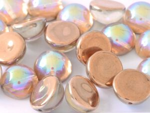 DO-B-00030-98533 Dome Beads Crystal Copper Rainbow 8 Pc.-0