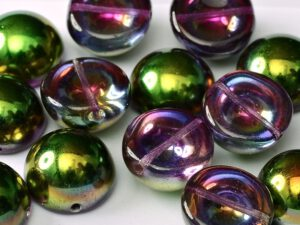 DO-B-00030-9500 Dome Beads Crystal Magic Orchid-0