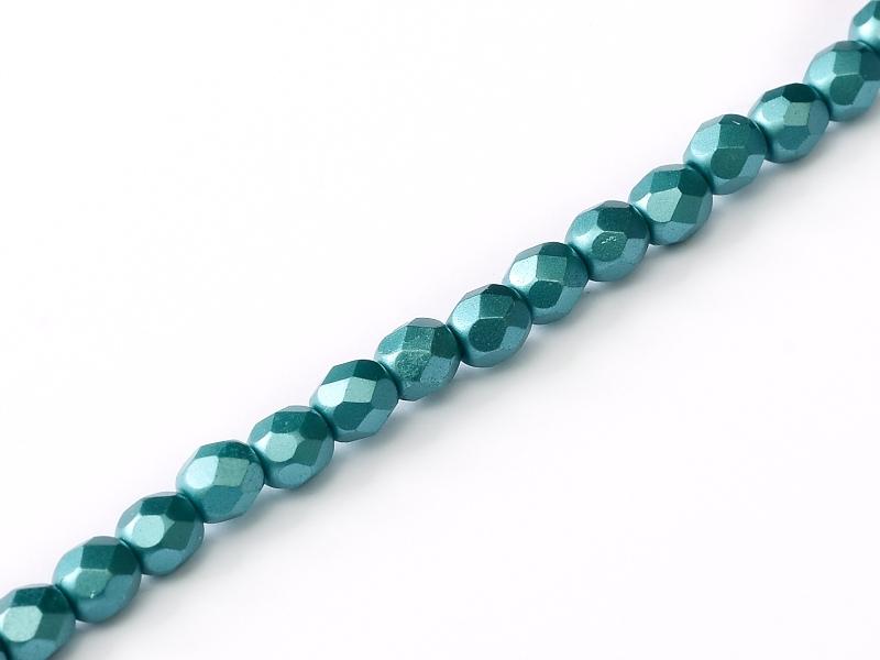 FP-04-02010-25043 Pastel Emerald Pearl facet 4 mm. 50 Pc.-0