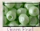 FP-03-02010-29315 Light Pastel Green Pearl Facet 3 mm. 50 Pc.-0