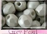 FP-04-02010-29320 Light Pastel Grey Pearl facet 4 mm. 50 Pc.-0