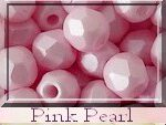 FP-04-02010-29305 Light Pastel Pink Pearl Facet 4 mm. 50 Pc.-6717