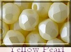FP-04-02010-29301 Light Pastel Yellow Pearl Facet 4 mm. 50 Pc.-0