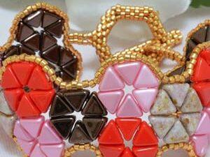 Kheops Patchwork Bracelet by Katie Dean-0