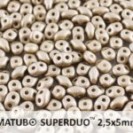 SD-02010-29416 Superduo Metallic Mat Grey 10 gram-0