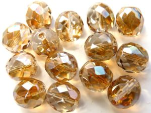 0030247 Crystal Half celsian facet 12 mm.-0