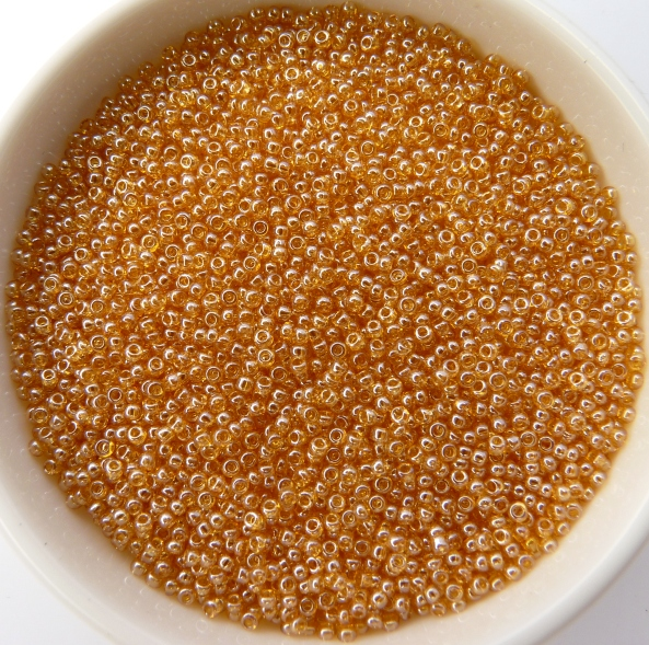 13-0-48013 Lumi Champagne 13/0 Preciosa Rocailles 20 gram-0