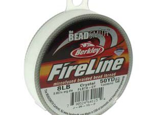 FL08CR50 Fireline Crystal Clear 8 LB 0.17 mm. 45 meter-0