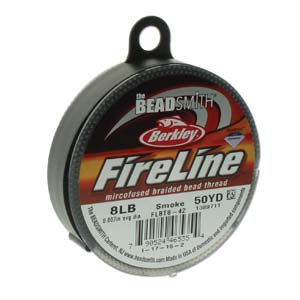 FL08SG50 Fireline Smoke Grey 8 LB 0.17 mm. 45 meter-0