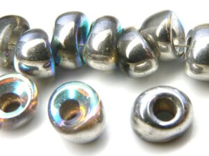 Nan-00030-98530 Crystal Silver Rainbow Nano Beads 20 Pc.-0