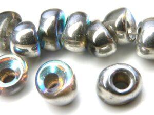 Nan-00030-98530 Crystal Silver Rainbow Nano Beads 20 Pc.-0