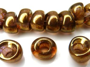 Nan-00030-15695 Crystal Bronze Nano Beads 20 Pc.-0