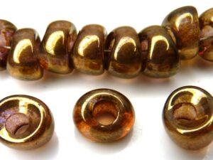 Nan-00030-15695 Crystal Bronze Nano Beads 20 Pc.-0