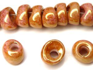 Nan-02010-14495 Chalk Apricot Nano Beads 20 Pc.-0