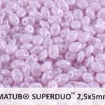 SD-21310-14400 Superduo Opal Light Violet Luster 10 gram-0