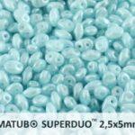 SD-61000-14400 Superduo Opal Aqua Luster 10 gram-0