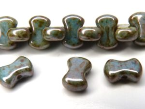 Coco-02010-65431 Alabaster Green Lumi Coco Beads 50 Pc.-0