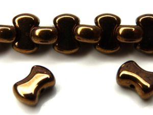 Coco-23980-14415 Jet Dark Bronze Coco Beads 50 Pc.-0