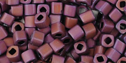 TC-03-0703 Matte-Color Mauve Mocha 3 mm Toho Cubes-0