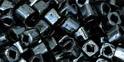 TC-03-0081 Metallic Hematite 3 mm Toho Cubes -0