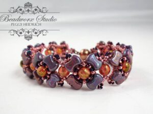 Link to a Free Pattern: BRACELET VIOLA from Peggy Heidrich.-0