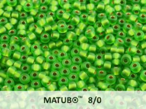 MTB-08-50050-IL Matubo™ Ice Lined - Chrysolit L Bronze -0