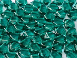 SL-60230 Teal Silky Beads 30 Pc.-0