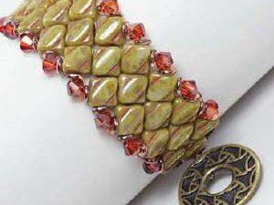 Silky Diamond Watch Cuff by Laura Graham ( Gratis bij een pakje Silky Beads)-0