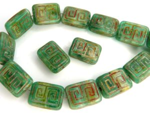 0100057 Light Emerald-Alabaster Travertin design 14 stuks-0