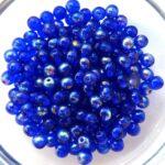 04-R-30080-28701 Cobalt Blue AB round 4 mm. 100 Pc.-0