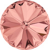 12 mm. 257 Blush Rose 1122 Swarovski Rivoli-0