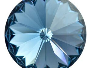 12 mm. 266 Denim Blue 1122 Swarovski Rivoli-0