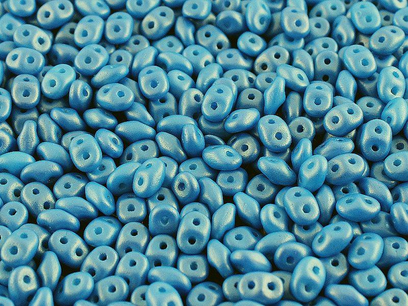 SD-02010-24108 Superduo Gold Shine Cornflower Blue 10 gram-0