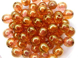 06-R-00030-14495 Crystal Red Luster Round 6 mm. 50 Pc.-0