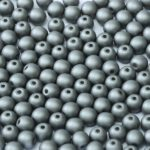 06-R-02010-29403 Metallic Mat Steel Round 6 mm. 50 Pc.-0