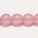 06-R-71000 Pink Opal Round 6 mm. 50 Pc.-0