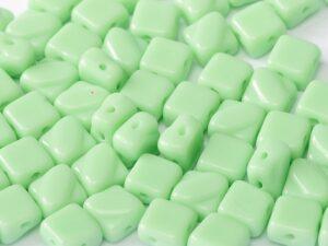 SL-53100 Silky Bead Opaque ( Light) Mint Green 30 Pc.-0