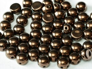 2HC-6-23980-14415 2-Hole Cabochon Jet Bronze 25 Pc.-0