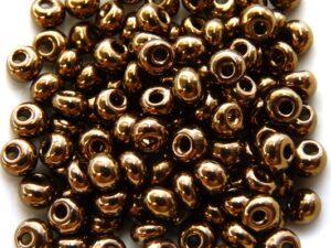5-0-PD-23980-14415 Jet Dark Bronze Preciosa 5/0 drops 10 gram-0