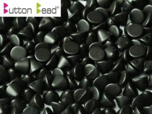 BB-02010-29400 Button Bead® Alabaster Metallic Mat Black 50 Pc.-0