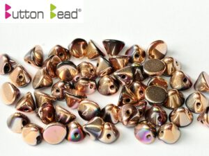 BB-23980-27143 Button Bead® Jet Full Capri Rose 50 Pc.-0