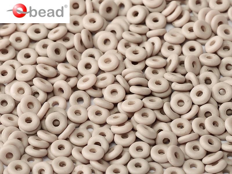 O-02010-29562 Opaque Silk Mat Taupe O bead ® 5 gram-0