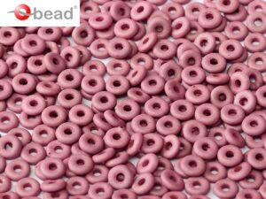 O-02010-29565 Opaque Silk Mat Plum O bead ® 5 gram-0