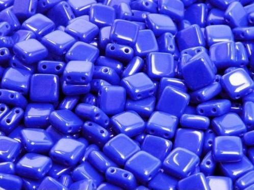 CMT-33050 CzechMates Tile, Opaque Sapphire 20 Pc.-0