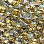 04-R-00030-98536 Crystal Golden Rainbow Round 4 mm. 100 Pc.-0