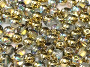 04-R-00030-98536 Crystal Golden Rainbow Round 4 mm. 100 Pc.-0