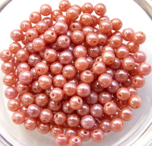 04-R-73020-14400 Lustered Rosanine round 100 Pc..-0